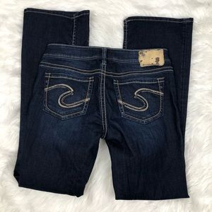 Silver Aiko Bootcut Jeans Size 29